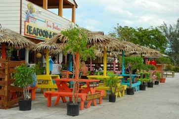 Bahamian food cation baking it real for Fish fry bahamas