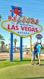 Andy and Courtney Las Vegas Sign